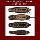 Battle Maps FANTASY:  The Galleon