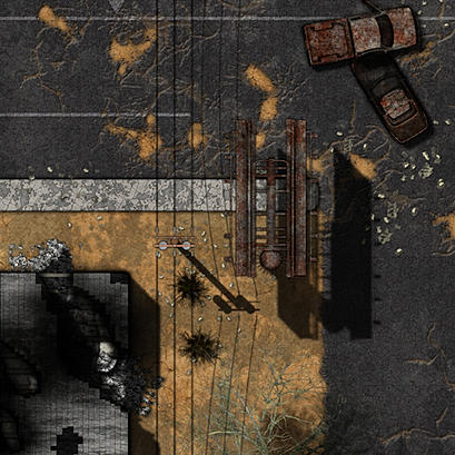 Preview of Wasteland Ruins IV