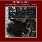 Battle Maps FANTASY:  The Destroyed Command Center