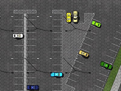 A section from the Parking Lot & City Streets battle map