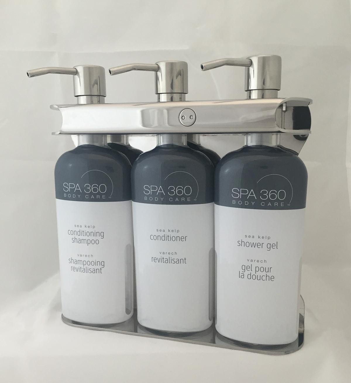 Aquamenities Sophisticated Soap Shampoo Dispenser