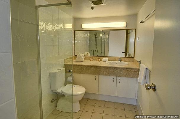 Three ensuite bathrooms