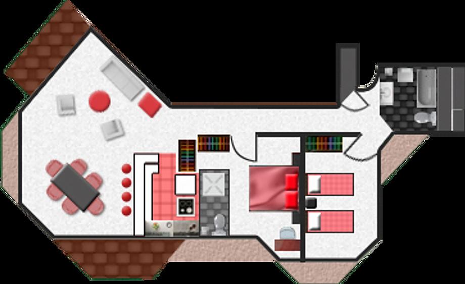2 Bedroom Apartment - A Column
