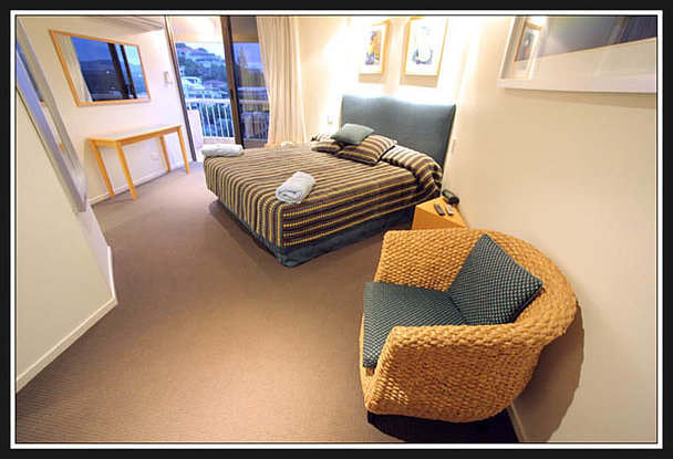 Oversized main bedroom