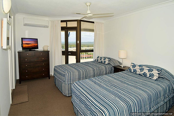 Three bedrooms with ensuites