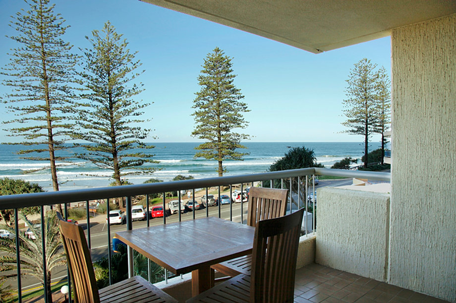 Great ocean views from all levels