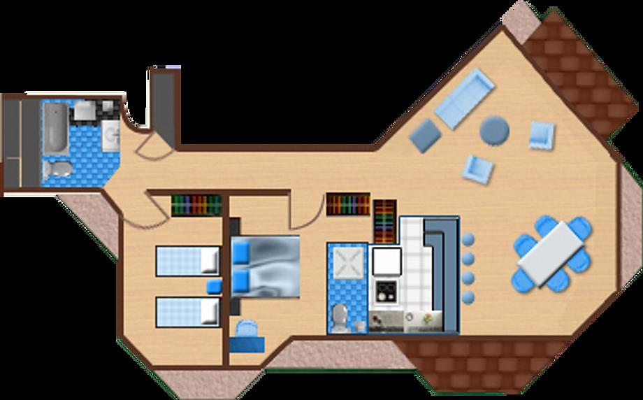 2 Bedroom Apartment - F Column