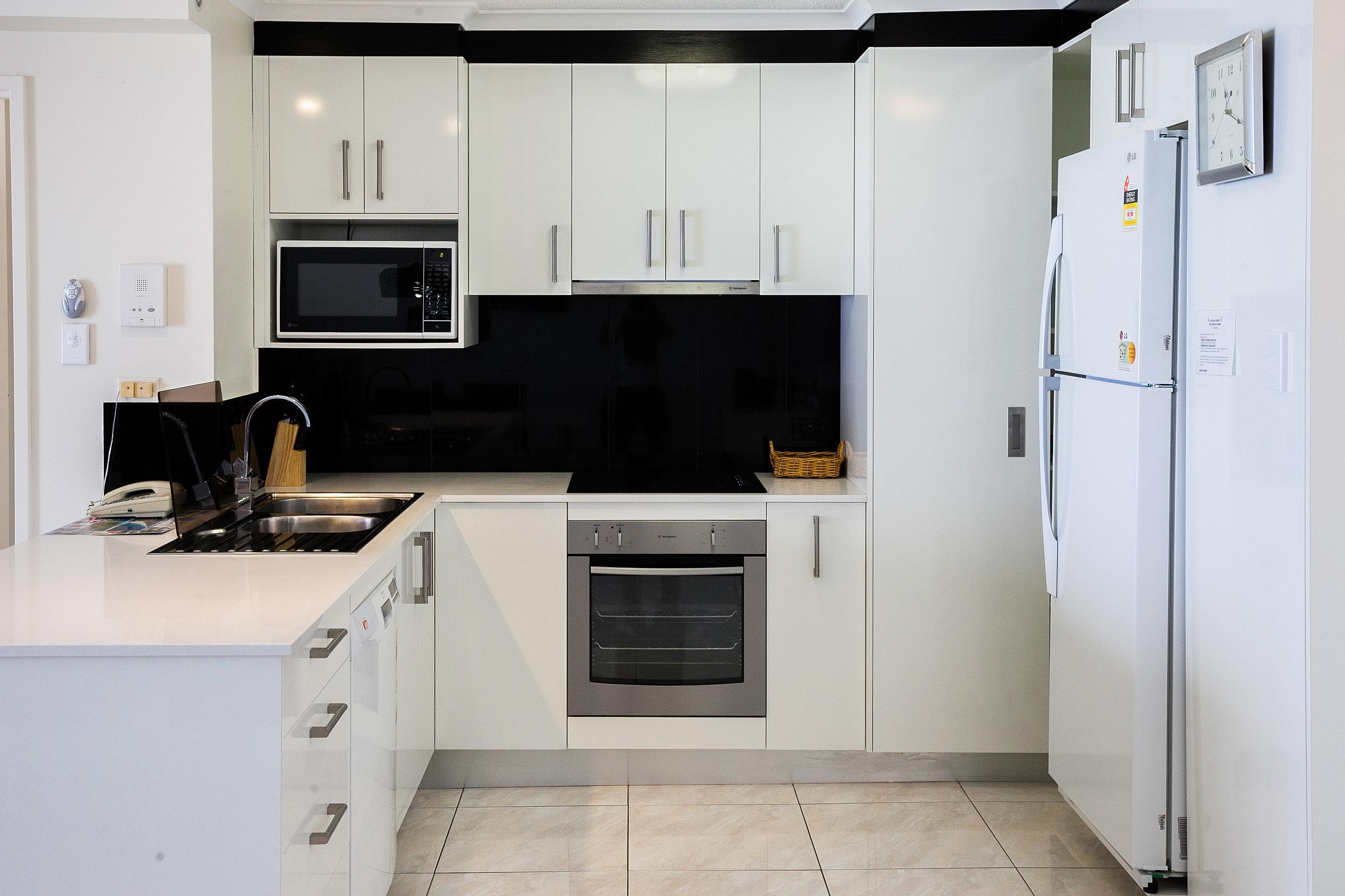 Uncategorized Kitchen Appliances Sunshine Coast coolum beach luxury apartments sunshine coast qld caprice large fully equipped kitchen
