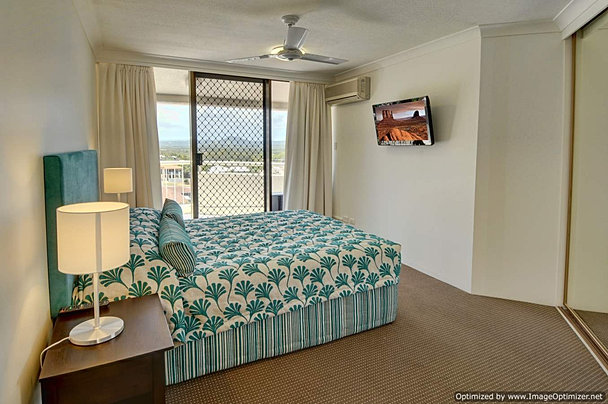 Televisions in all bedrooms