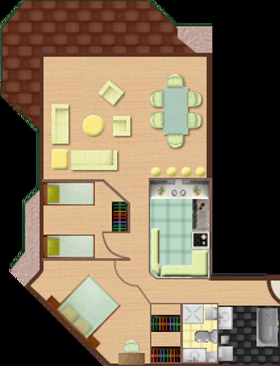 2 Bedroom Apartment - B Column
