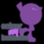 Colour my Business logo - purple bird.pn