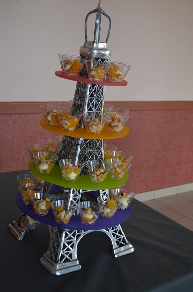 Presentoir gateau tour eiffel