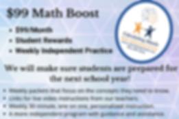 math tutoring $99 math boost knoxville