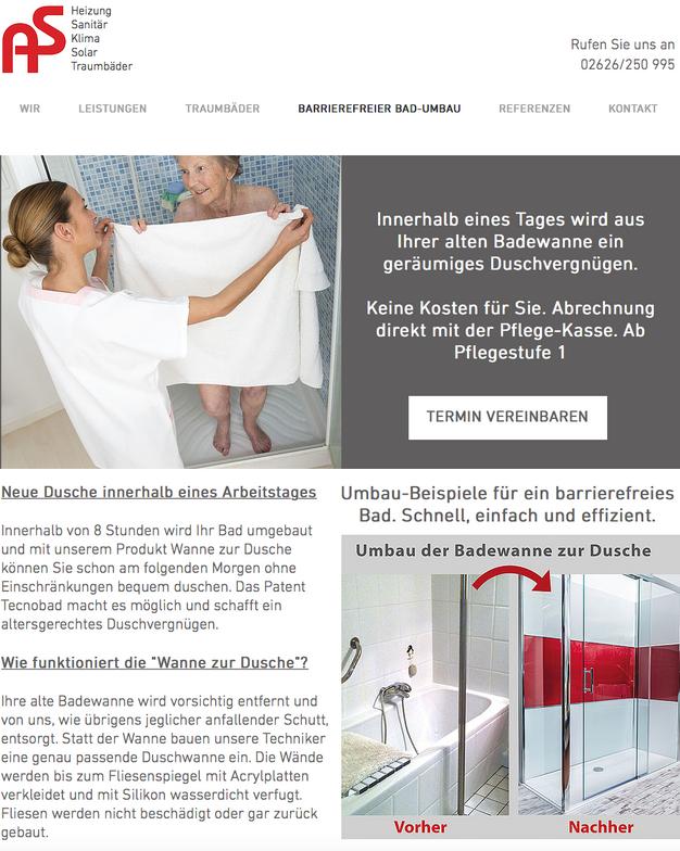Website, Sem/seo, Klima, Heizung, Sanitär | Online Marketing,