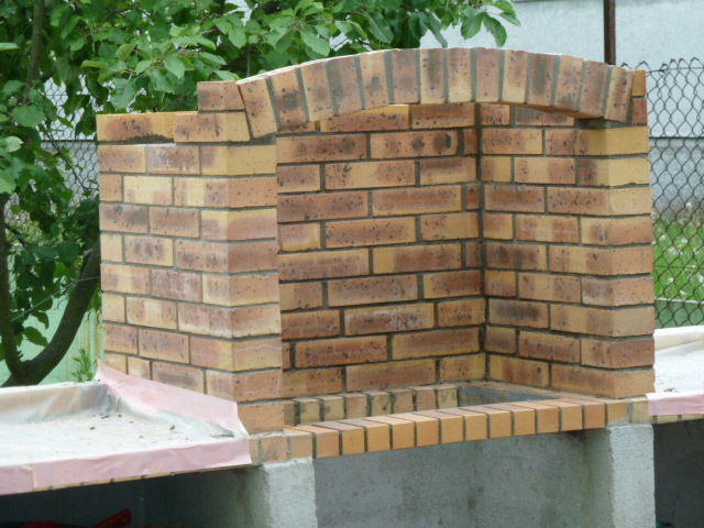 Multi25 - Barbecue en brique refractaire neuf ...