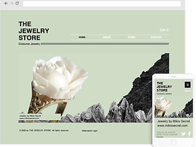 Jewelry Web Design Company | Jewelry Website Design