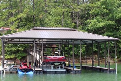boat lifts-smith lake