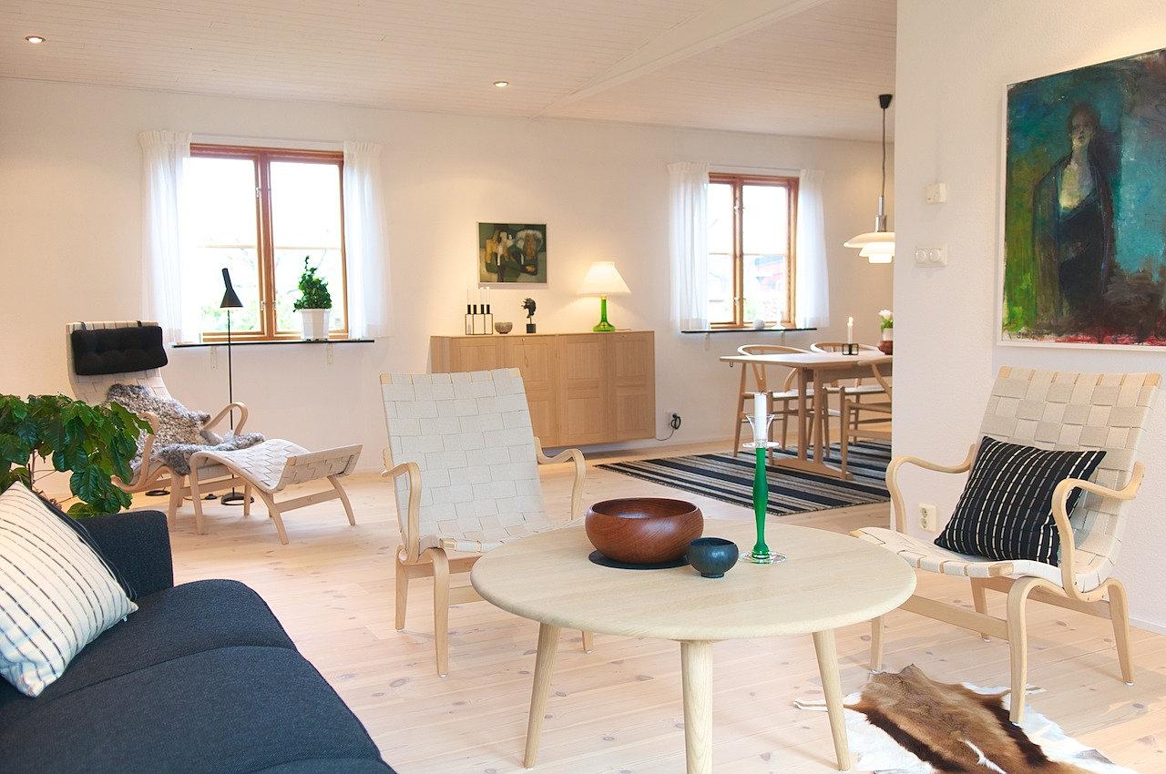 Nordisk Möbelkonst Möbler och inredning från nordiska designers Fåtölj Eva, Bruno Mathsson