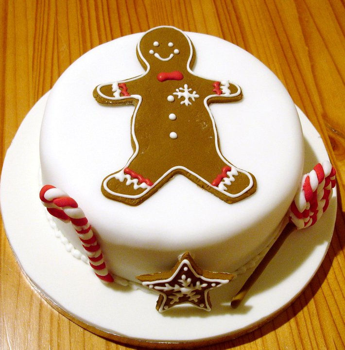 Gingerbread Candy Cake