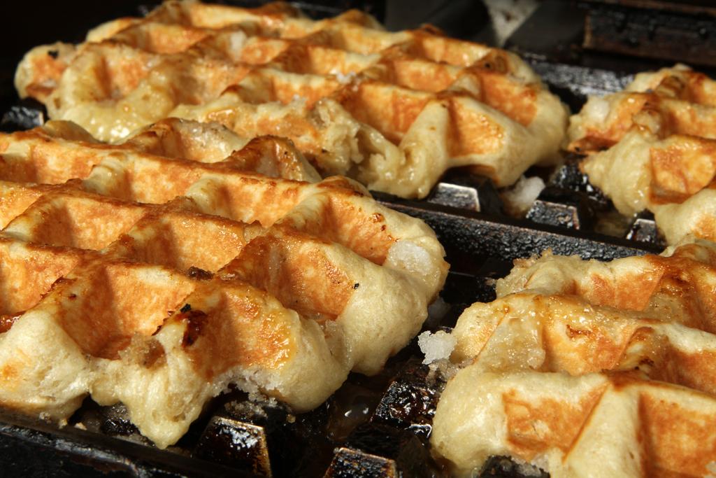 Cast Iron Waffles | Fresh Belgian Liege Waffles