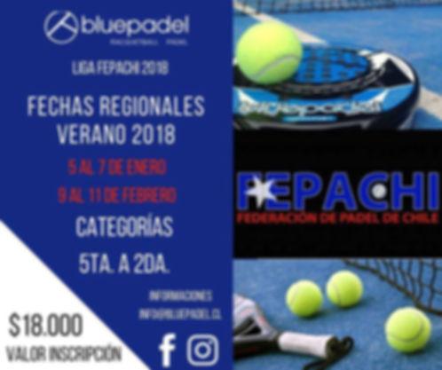 Torneo Padel Club Quinteros 13 a 15 enero 2017