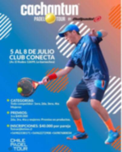 Torneo Padel Club Conecta Julio 2018