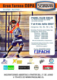 torneo de padel copa scanavini 7 a 9 julio 2017