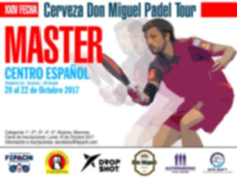Torno de padel centro español 20 a 22 octubre 2017