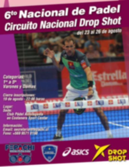 Agosto Torneo antofagasta Padelchile.com