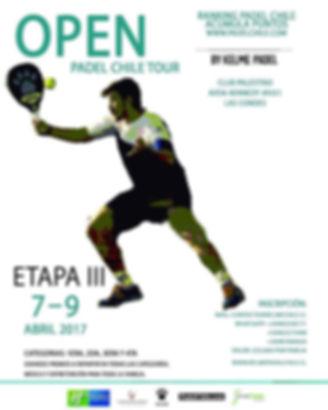 Torneo de padel palestino Abril 2017