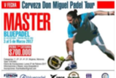 Torneo padel bluepadel 3 a 5 marzo 2017
