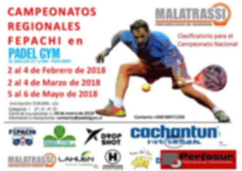 Torneo Padel Pasco Club 6 a 8 Enero 2017