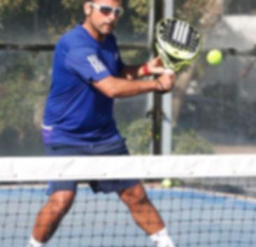 Cristian Yañez Profesor de Padel y tenis