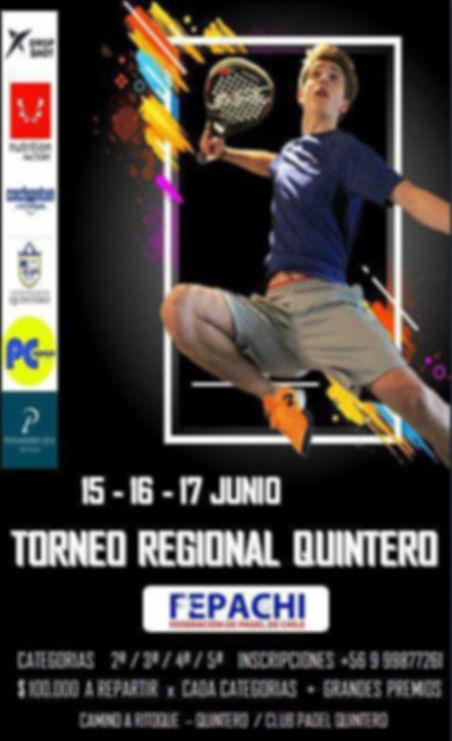 torneo padel Quinteros junio 218
