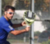 Cristian Yañez Profesor adidas padel chile