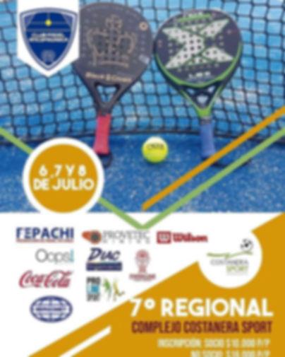 Torneo Padel Antofagasta Julio 2018