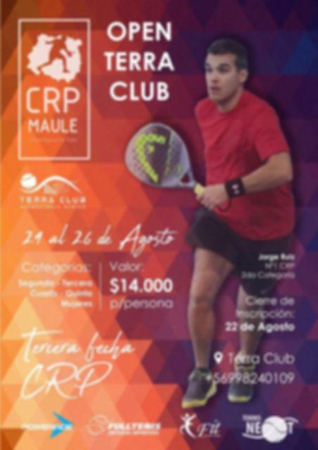 torneo padel Agosto Terra club padelchile.com