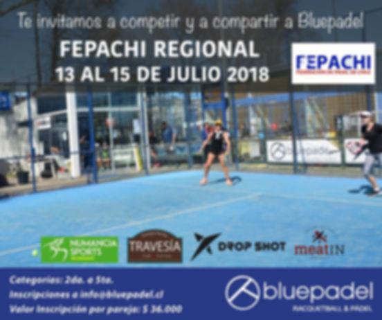 Torneo Padel Club Bluepadel Julio 2018