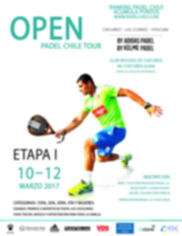 Torneo de Padel Chicureo Open Marzo 2017