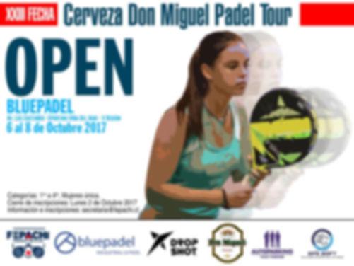 torneo de padel bluepadel 6 a 8 octubre 2017