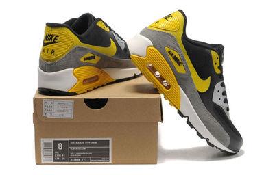 Nike Air Max 90 Hyperfuse men Black gray yellow_3.jpg