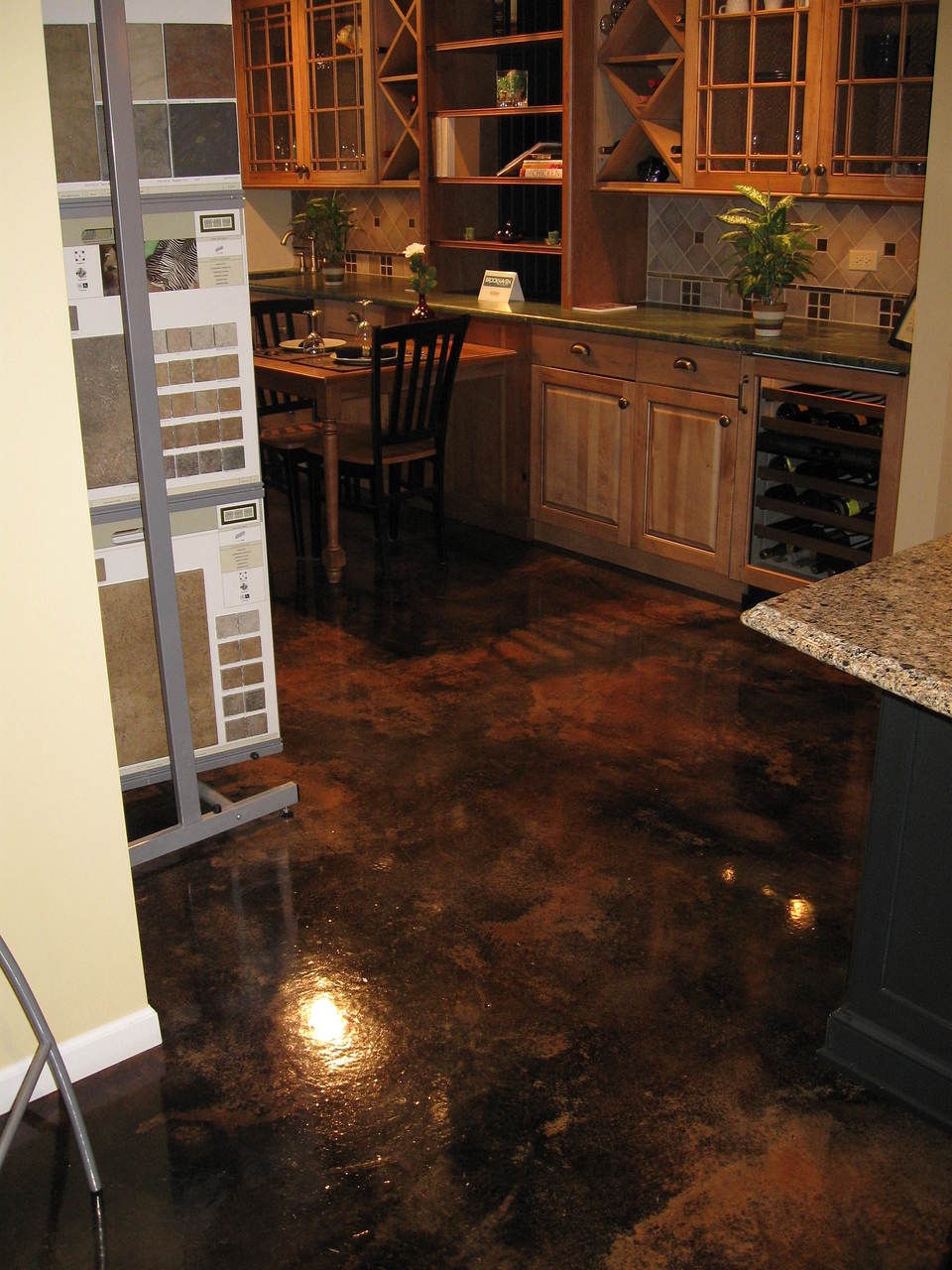 Interior Decorative Concrete : Pacific coast concrete designs flooring