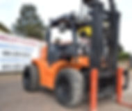 All Terrain Forklift To Rent