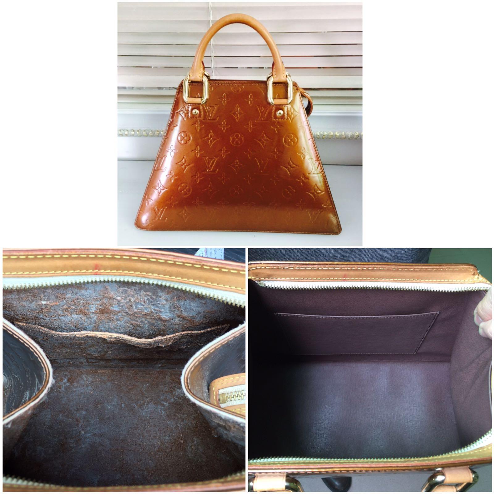 9461b1d8e5ac Inner Lining Replacment on LV Bag