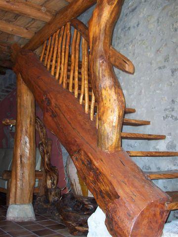 Escaleras Rusticas. Excellent Beautiful Excellent Imagen De Escalera ...