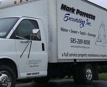Contact Information For Mark Porretta Excavating