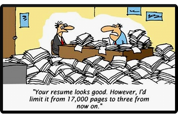 Deadly Resume Mistake #4-Your Resume is Too Long | Professional Resume  Writing Service | Career Confidence