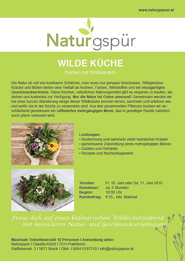 naturgspür produkte aus der natur | wilde küche