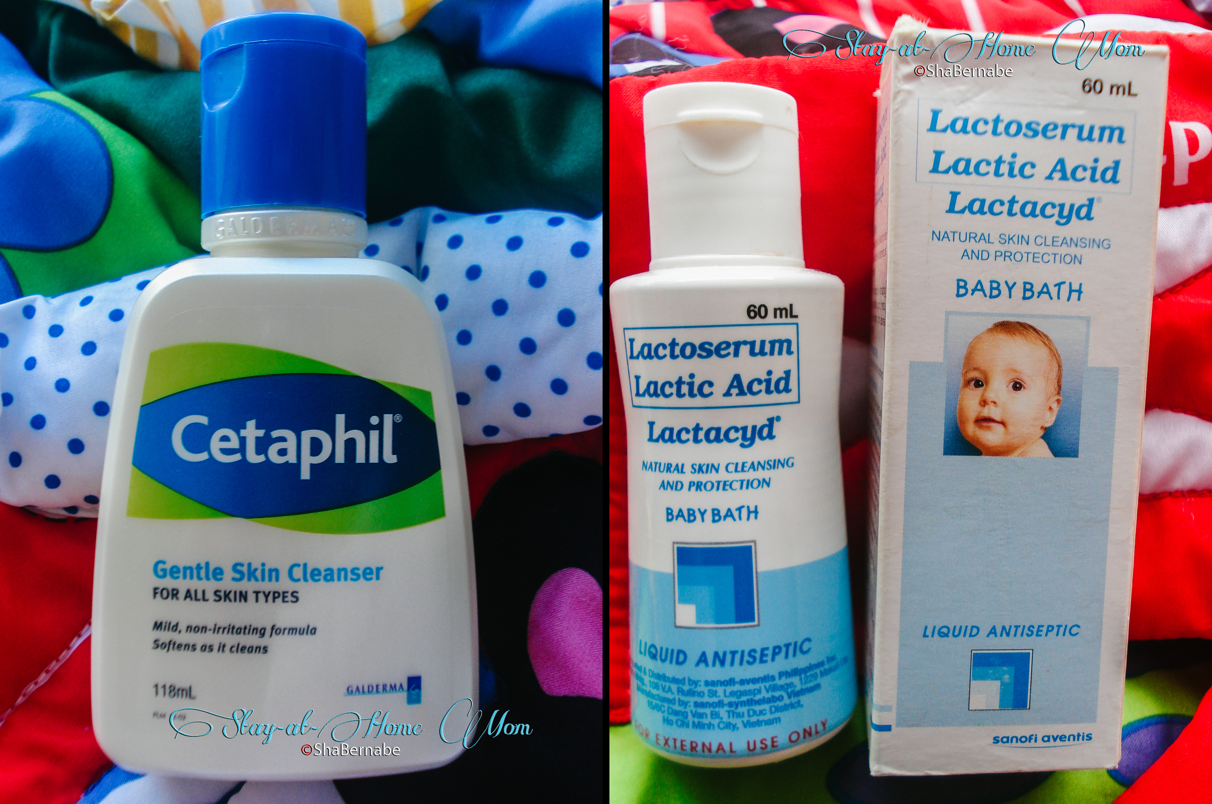 Baby Wash: Cetaphil Gentle Skin Cleanser Vs Lactacyd Baby Bath   Stayathome Mom