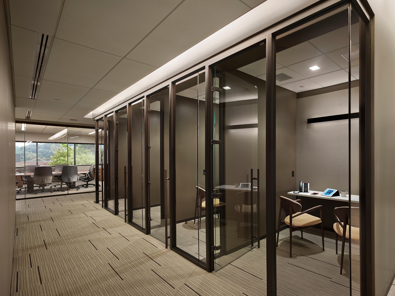 Architype muraflex expo glass wall for Office design expo